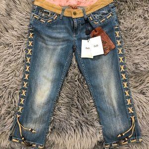 D&G crop- Capri jeans